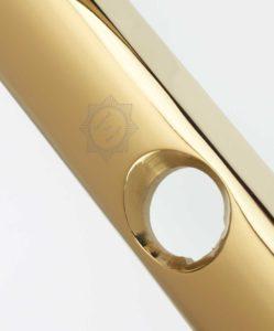 Gold Platinum Yale Door Handles