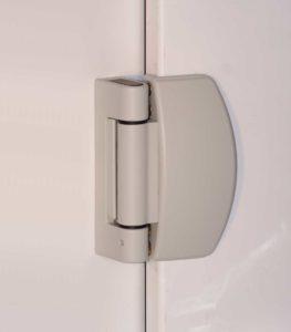 Silk grey sigma door hinges