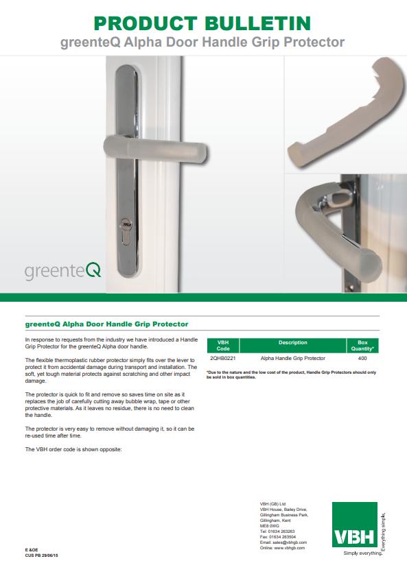 greenteQ Alpha Door Handle Grip Protector