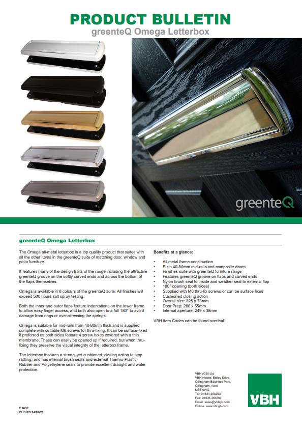 greenteQ Omega Letterbox